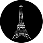 Standardstahlgobo Rosco Eiffel Tower 77305