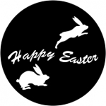 Standardstahlgobo Rosco Happy Easter 78017