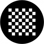 Standardstahlgobo Rosco Chessboard 78049