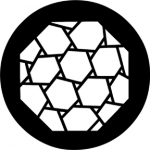 Standardstahlgobo Rosco Hexagons 78209