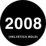 Standardstahlgobo Rosco Helvetica Dates 78261
