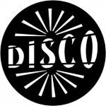 Standardstahlgobo Rosco Disco 79145
