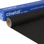 Black Wrap Cinefoil Rosco mattschwarz 30 x 1524 cm